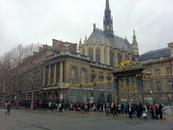 sainte Chapelle parigi coda