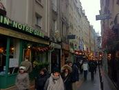 rue de la huchette parigi